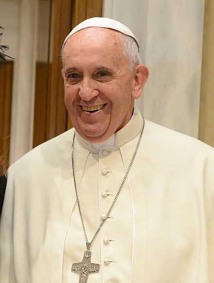 Pope Francis is the 266th and current Pope of the Catholic Church, a title he holds ex officio as Bishop of Rome, and sovereign of Vatican City: born in 1936.In international diplomacy, he helped to restore full diplomatic relations between the United States and Cuba.