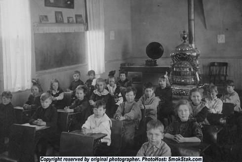 "Pictures of ""Stuff"" from my Gallery - Page 5 - SmokStak - the one room school house that Doig writes about in The Whistling Season might have looked like this one."