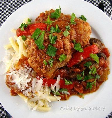 Chicken Cacciatore (Pollo alla Cacciatore) by Lidia Bastianich's
