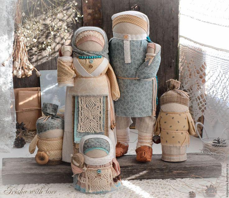 """Купить кукла-оберег Семья """"Белый день"""".Резерв. - белый, семья, традиционная кукла"""