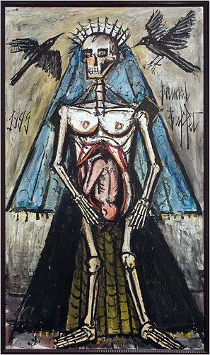 Bernard Buffet - The Death 5