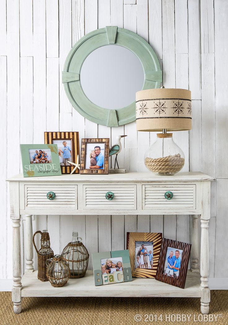 Once you've gotten the clothes and souvenirs (and sand!) out of your suitcase, have fun reminiscing about your seaside getaway with a pretty arrangement of photos.