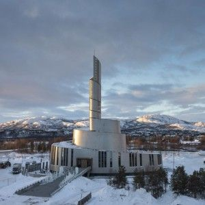 Cathedral of the Northern Lights by  Schmidt Hammer Lassen and Link Arkitektur