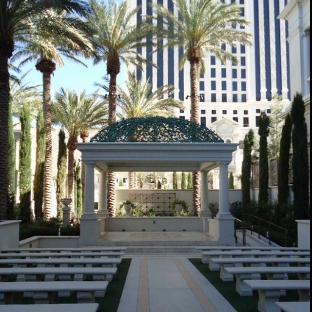 Juno garden Caesars palace las Vegas! I got married here