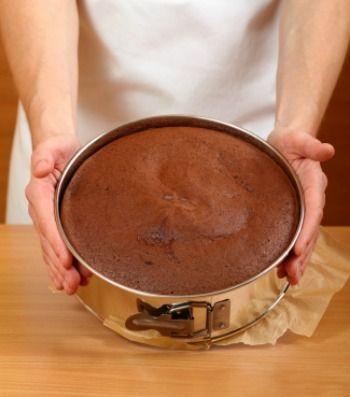 Schokoladen-Schwamm-Kuchen
