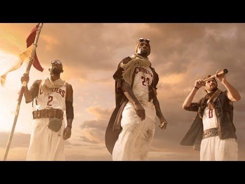 LeBron James, Kyrie Irving & Kevin Love Star in NBA on TNT's 'Quest' Commercial - YouTube