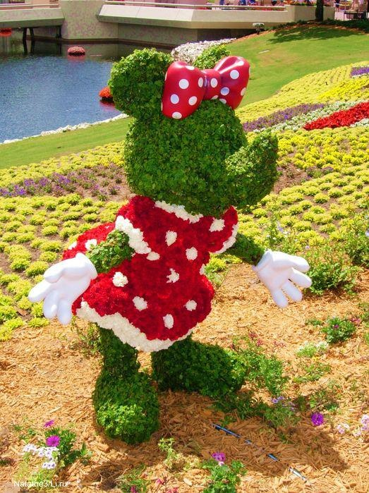 Pretty Petals ❀ :: Minnie Mouse Topiary