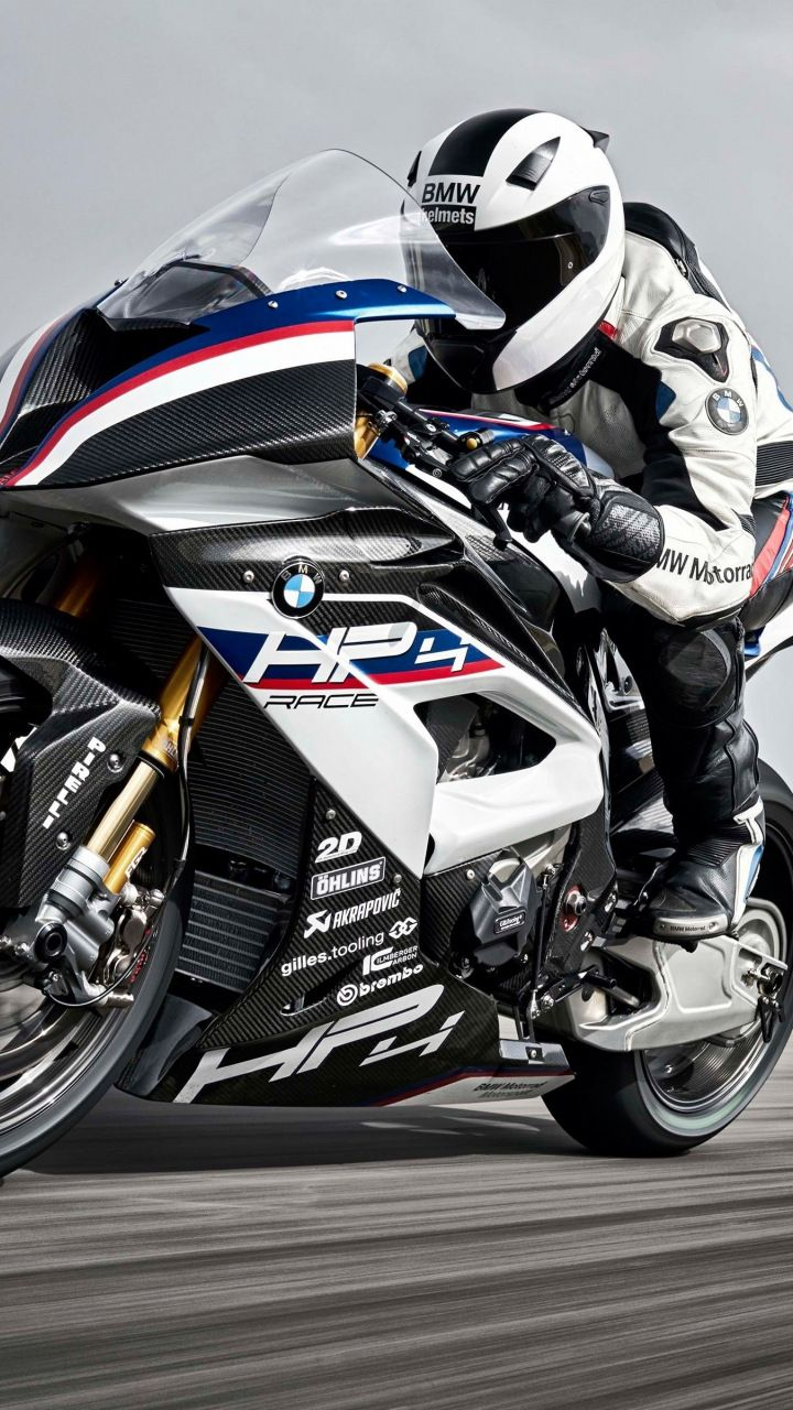 Bmw Hp4 Race Bike Track 720x1280 Wallpaper Bmw Motorcycles