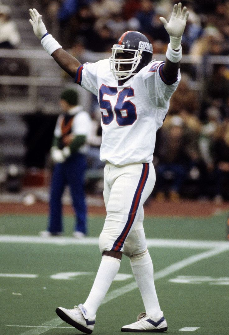 810cc37b5a4 ... New York Giants 56 Lawrence Taylor Black Salute To Service Jersey NFL.com  Photos - Lawrence Taylor Through the Years ...