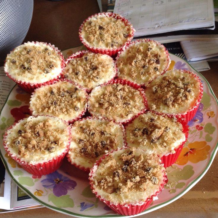 Lemon cookie cupcakes