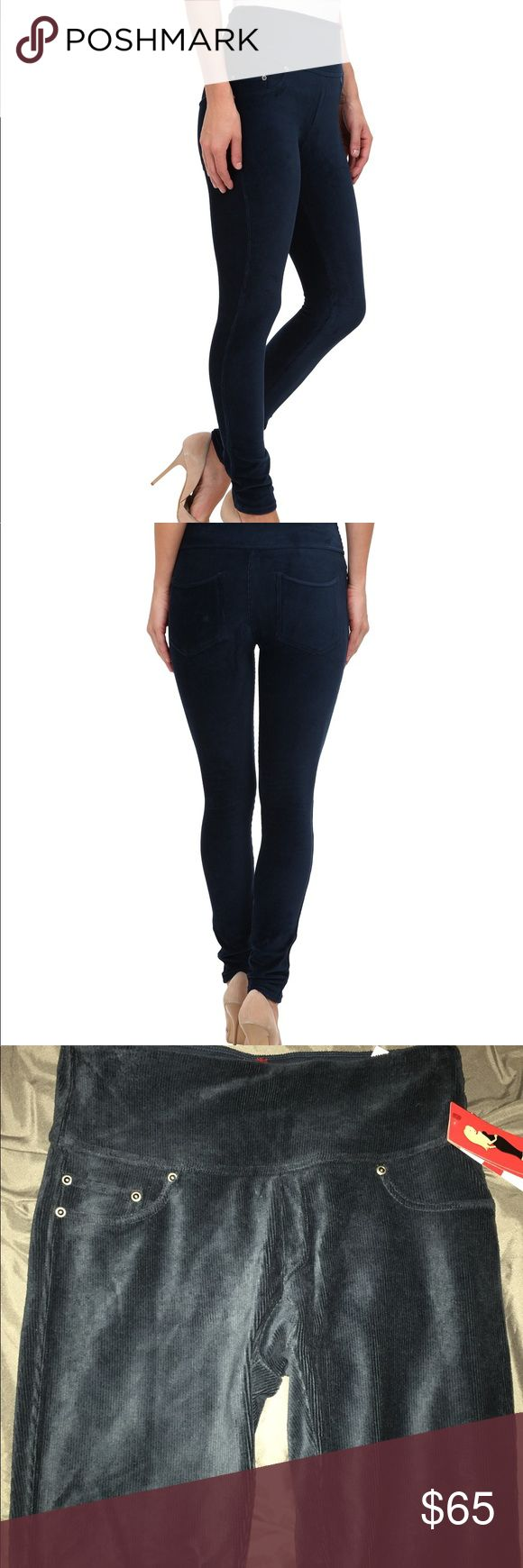 Spanx blue cords ultra slimming leggings NWT Spanx blue cords ultra slimming leggings. SPANX Pants Leggings