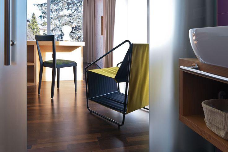 L'Abbate Italia: Park Hotel Azalea - Cavalese - Italy. Livia chair 116.01.