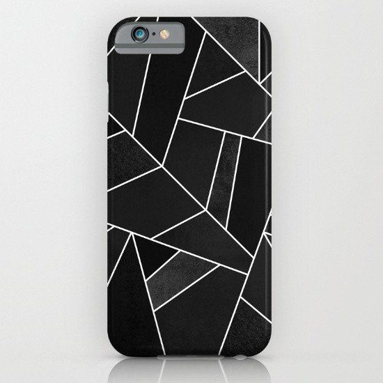 Black Stone iphone case, smartphone