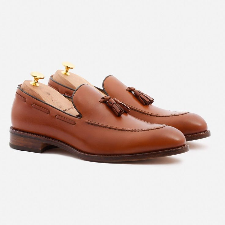 Bernard Tassel Loafer - Calfskin Leather - Tan
