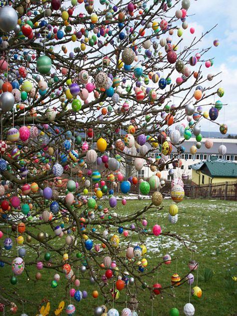 Árvore da Páscoa: Osterbaum. IMIGRAÇÃO ALEMÃ - Árvore da Páscoa: Osterbaum. Prefeitura Municipal de Águas Mornas - SC