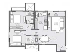 Godrej  The Trees Floor Plan