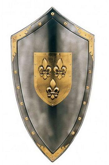 eEcudo con flor de lis|Tienda Medieval: Venta de Espadas y armas ...