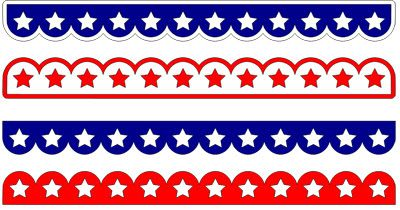 4th of july border template