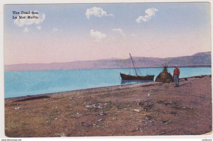 البحر الميت 1908 Natural Landmarks Landmarks Travel