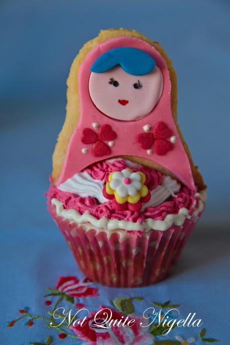 Matryoshka Doll cupcakes