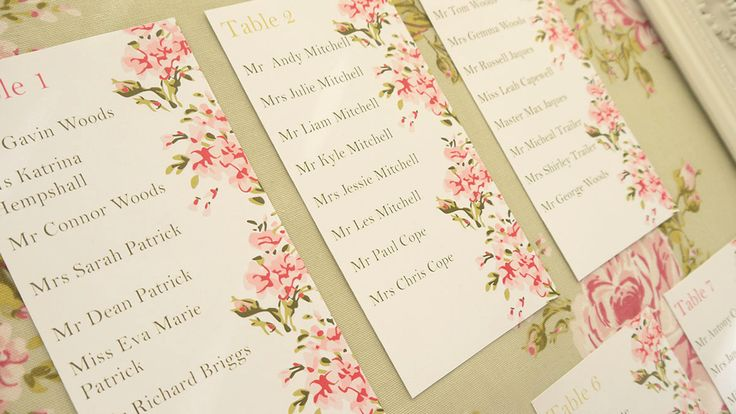 """Ideal Bride brings you our 5 of the best Wedding Tableplans, as chosen by our editor. The editor says """"Modern tableplans are available in a whole host of varieties, from London Underground maps to a collection of photo frames. Every guest will look at the tableplan to find their seat, so it is important to get it right and make it memorable."""""""