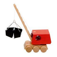 ケラーの木製バウクレーン車