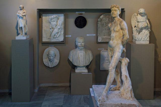 Μουσείο Γιαννούλη Χαλεπά στο χωριό Πύργος στην Τήνο