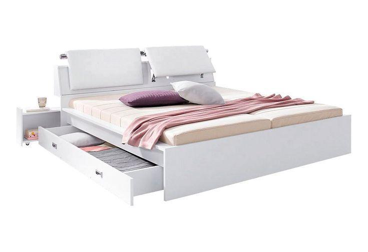 Futonbett Futonbett Kopfteil Mit Bildern Futonbett Weisse Bettwasche Schlafzimmermobel