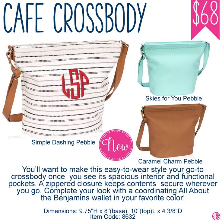 Cafe Crossbody by Thirty-One Spring/Summer 2017 New Product