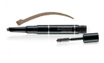 BEST SELLER MARCH 2014:   Get perfectly polished brows on the go with our iconic Brow Tech. $43!  The double-ended component includes an angled long-wearing waterproof pencil for precise filling and defining and a soft hold gel with a brow brush applicator to groom brows perfectly into place. With vitamin C & E and jojoba for added healthy-skin benefits.
