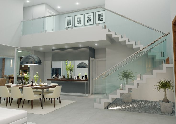 Escada - Mezanino - Dentada - Paisagismo