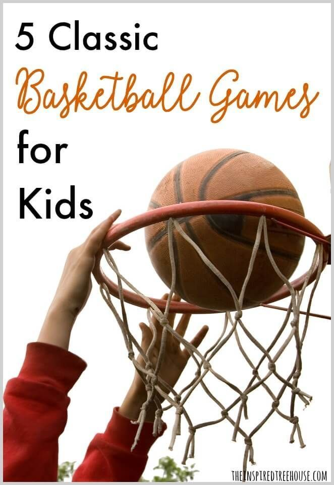 The Inspired Treehouse - BASKETBALL GAMES FOR KIDS - Perfect for a summer afternoon at the park, or right in your own driveway!  Basketball games are a great way to work on coordination.