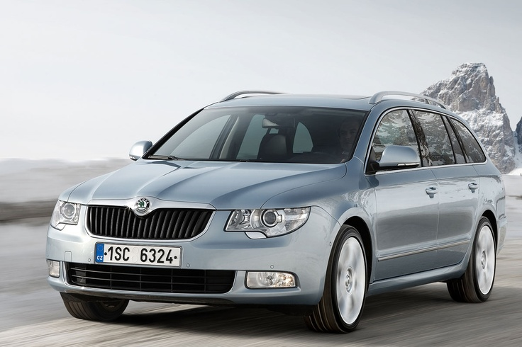 Skoda Superb Combi - practical daily luxus for me