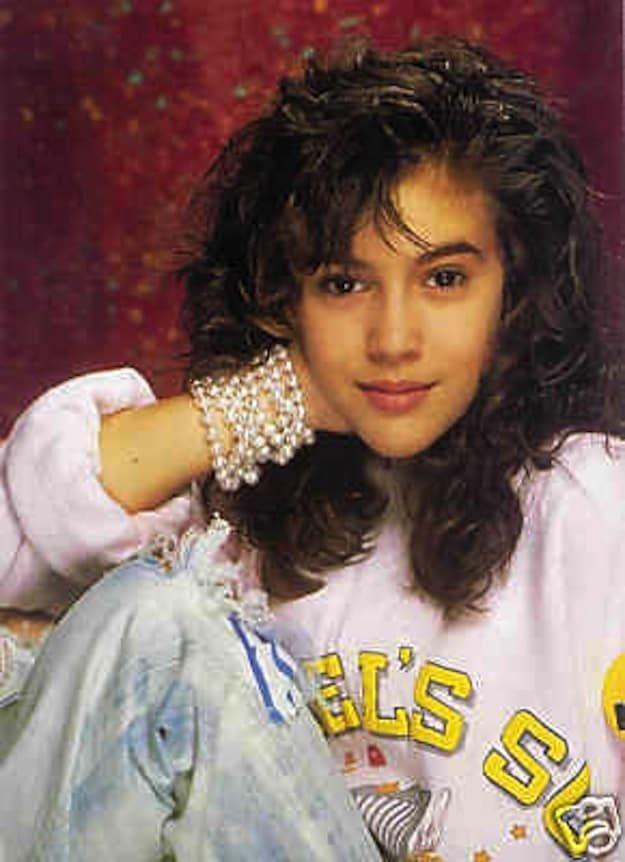 Alyssa Milano: Champion Of '90s Style