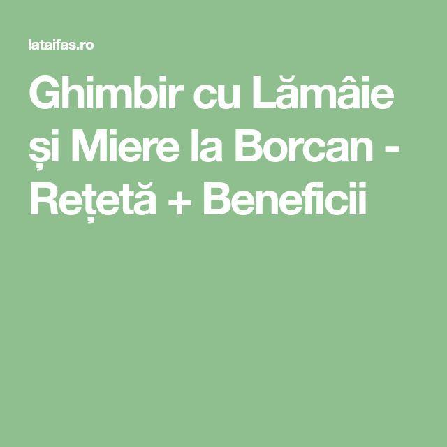 Ghimbir cu Lămâie și Miere la Borcan - Rețetă + Beneficii