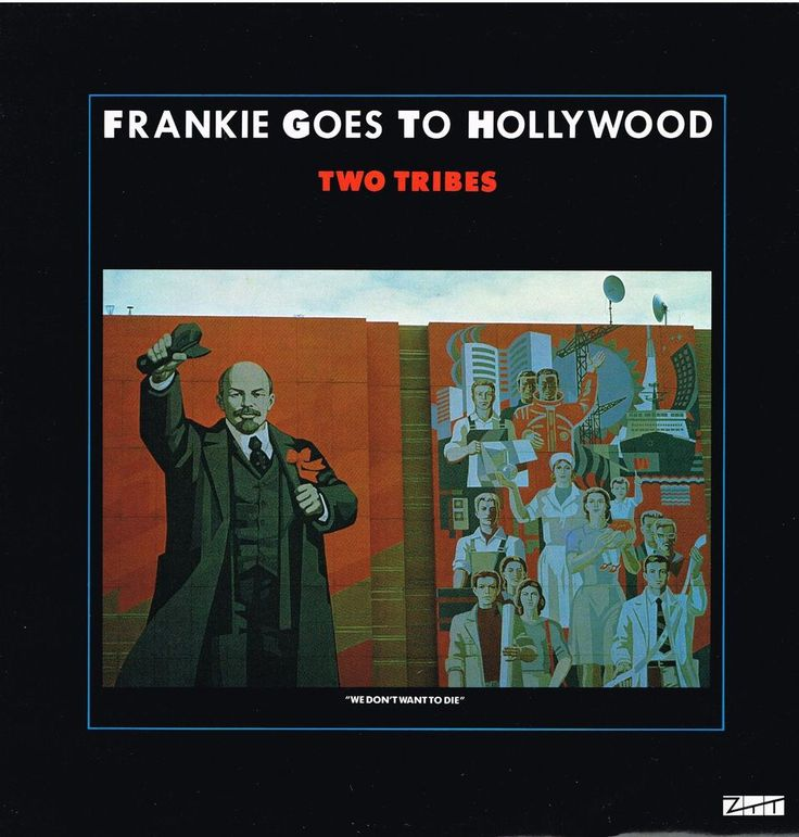 FRANKIE GOES TO HOLLYWOOD: TWO TRIBES  (4 Track 12  Single)