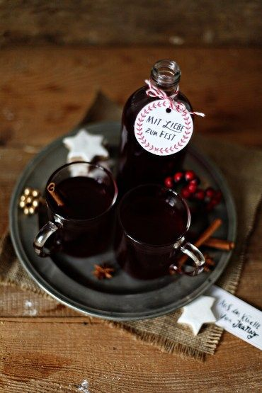 #christmas #beveerage EDEKA MIT LIEBE Punsch Weihnachten Rezept Zuckerzimtundliebe Foodblog