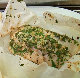 Basic Lemon and Herb Fish en Papillote - Cooking fish en papillote (I use foil) is awesome - easiest clean up ever! Plus, if you make some extra gremolata for this particular recipe, you can mix it with lemon juice, olive oil, and a touch of dijon for a great vinaigrette for your salad.... a whole meal in minutes