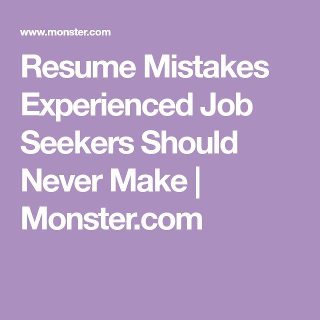 Более 25 лучших идей на тему «Resume summary statement» на Pinterest - top resume mistakes