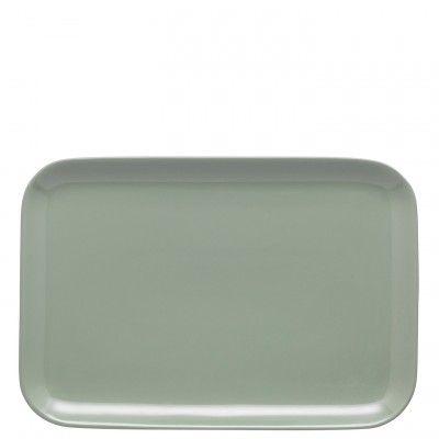 Olio Duck Egg Serving Platter 33cm - Barber and Osgerby