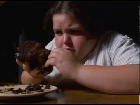 "Chocolate cake scene in ""Matilda"" (1996)"