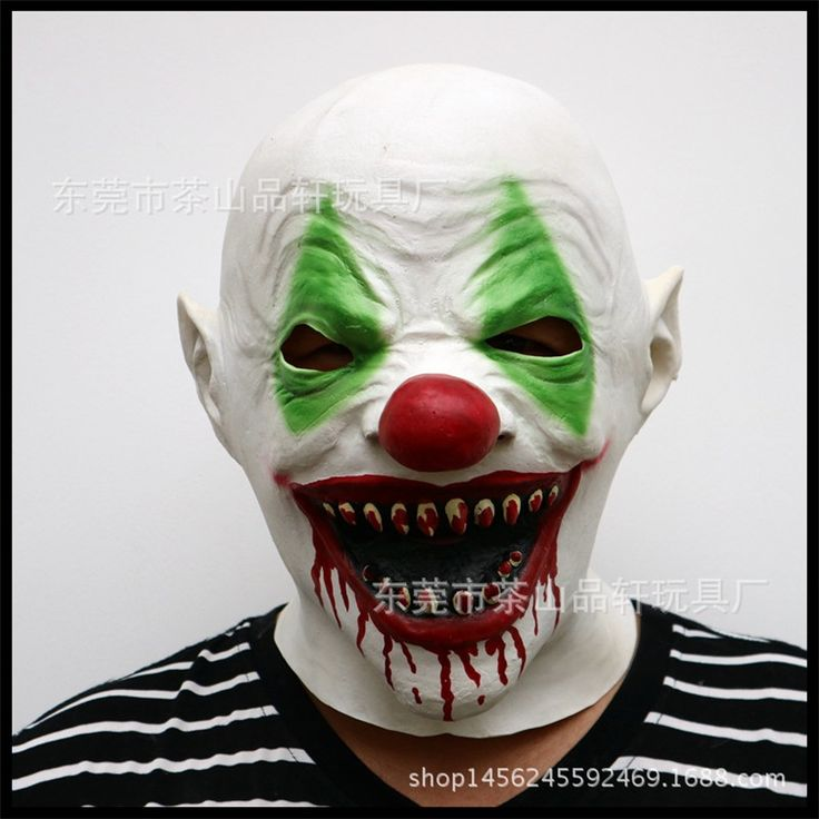 Top Funny Party Joker Mask Batman Clown Costume Cosplay Movie Adult Party Masquerade Rubber Latex Scary Masks for Halloween toys