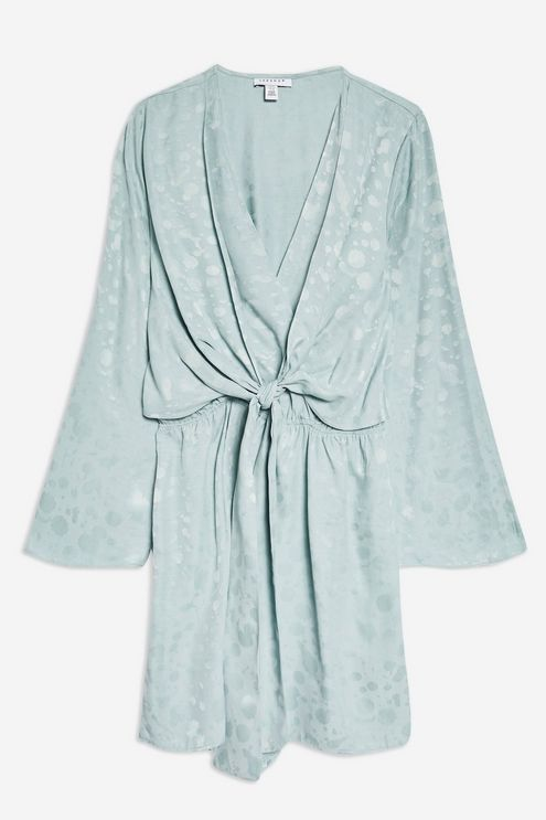 ba2e5be62ea2 Jacquard Knot Playsuit - New In Fashion - New In - Topshop