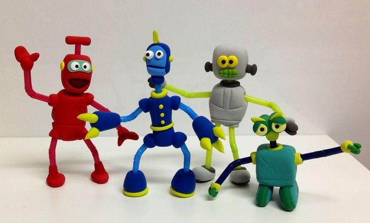 новый картинки робота из пластилина выпуске комфортной