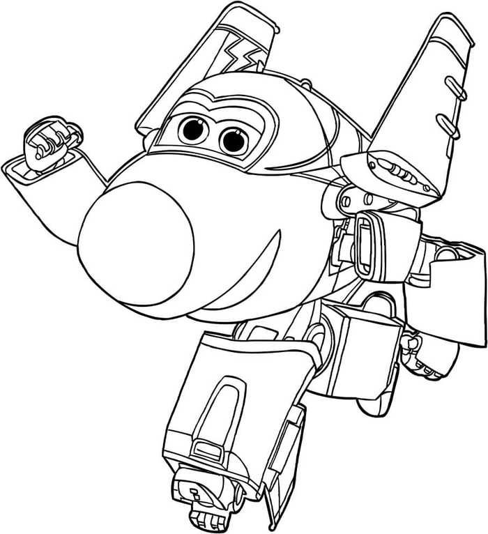 Printable Super Wings Coloring Pages Free In 2020 Coloring Pages For Kids Coloring Pages Cartoon Coloring Pages