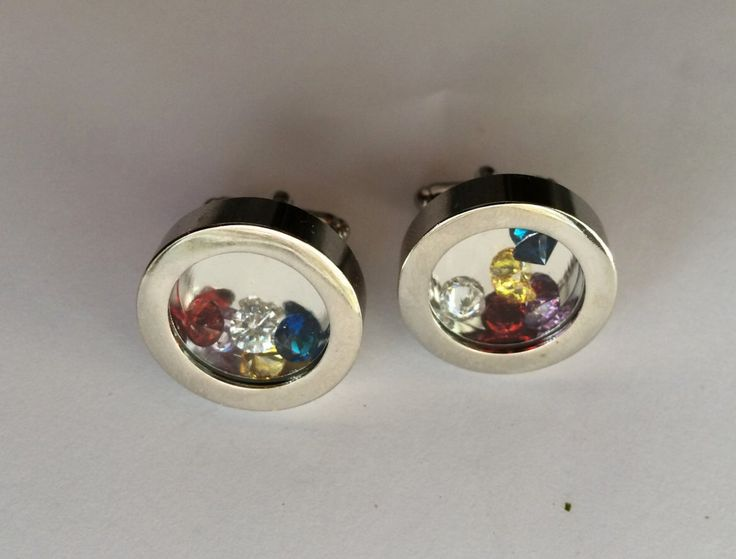 A personal favorite from my Etsy shop https://www.etsy.com/ca/listing/234790657/birthstone-filled-cufflinks-fathers-day