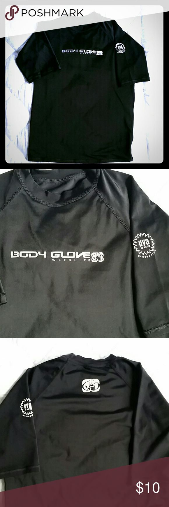 """Body Glove Wetsuits Shirt EUC - Hardly worn!   Made of nylon & spandex.   Measures approx 24"""" in length  & approx 17"""" from armpit to armpit.   It has UVA Sun Protection. Body Glove Shirts & Tops Tees - Short Sleeve"""
