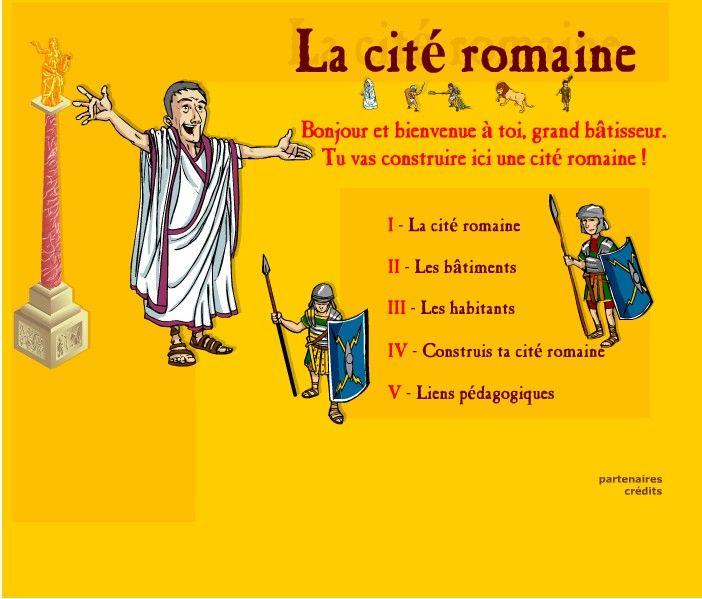 Construire sa cité Romaine