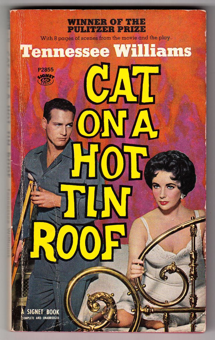 a review of tennessee williams 1958 book cat on a hot tin roof A 1955 play that won tennessee williams his second pulitzer prize, cat on a hot tin roof has endured thanks to numerous productions ever  in the 1958 film,.