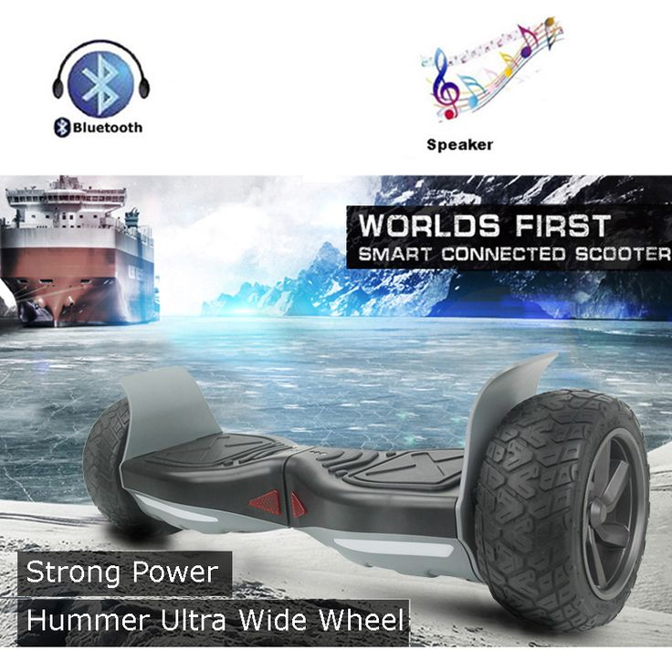 Strong Power Hummer Ultra Wide 2 Wheel Self Balancing Scooters Smart Balance Electric Scooter Men Hover Board UL Hoverboard //Price: $270.90//     #shopping